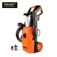 sell TOLHIT 220-240v 1400w 70-125bar Electric High Pressure Car Washer