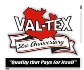 VAL-TEX Lubricant sealant, Valve flush, Grese gun