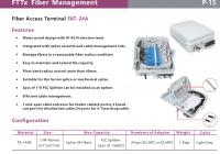 Fiber optic equipment
