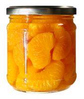 Fresh canned mandarin orange, mandarin orange, fresh orange