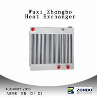 Air compressor parts heat exchanger