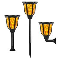 Sell Solar Light 6 color with Flickering Flame-Sunklly Waterproof Solar Lighting Landscape Decoration for Garden Patio Yard Driveway, auto ON/OFF  SL130