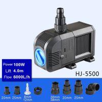 Sell 100W 6000L H  Lift 4m Multi Function Submersible Fountain Pump for Aquarium Black HJ5500