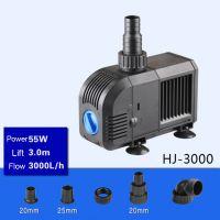 Sell 55W 3000L H  Lift 3m Multi Function Submersible Fountain Pump for Aquarium Black HJ3000