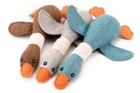 Sell Swan Design Puppy Dog Chew Funny Sound Plush Pet Toys PT100