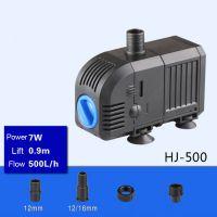 Sell 7W 500L H  Lift 0.9m Multi Function Submersible Fountain Pump for Aquarium Black HJ500