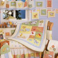 Sell barnyard 6pcs crib bedding set