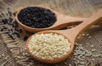 Sesame Seeds, Black , White and Brown