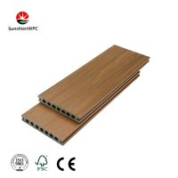 Sunshien WPC excellent natural composite decking flooring