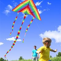 Outdoor Kites With Control Bar and Line