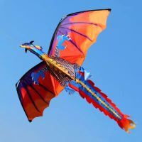 New High Quality Classical Dragon Kite With Handle and Line