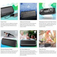 DBK Solar Bluetooth Speaker with 5000mAh Power Bank