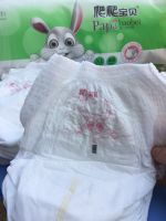 OEM clothlike disposable baby nappy training pants