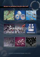 Lamp Metal Parts, Metal stamping parts, CNC machining Parts
