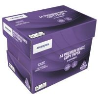International Size A4 / 80 GSM A4 Copy Papers , office paper / Paper One / Double A