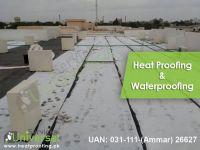 Best Heat Proofing And Water Proofing Service Entire Karachi Pakistan