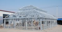 Huge iron garden greenhouse