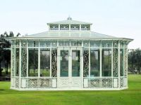 Nice garden iron greenhouse