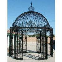 Nice wrought iron garden gazebo