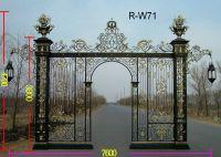Nice iron gate