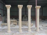 House stone pillars