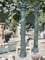 Nice simple hand carved natural stone columns