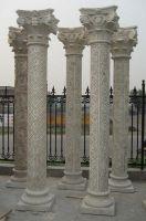 Garden stone columns