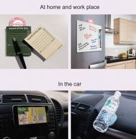 Adhesive pad that can stick things like phone in the car