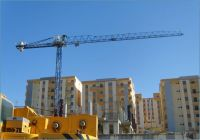 Comansa flat top tower crane