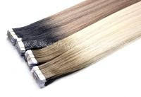 Flat Tape-on Skin Weft Hair T Colors