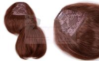 Clip-on Fringe Brown for Hair Extensions