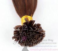 V Tip Brown Hair Extensions
