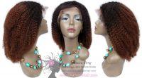 Lace Wig Kinky Kinks Style Hair