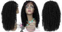 Full Lace Wig Jerry Curly Hair