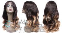 Lace Wig T Brown Blonde