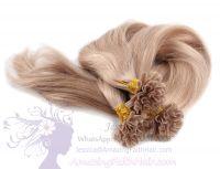 Nail U-Tip Blonde Hair Extensions