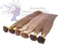 Flat-Tip Brown Colors Hair Extensions
