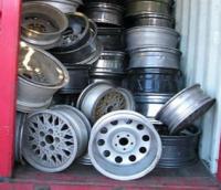 Aluminium wheel scrap 99.90%