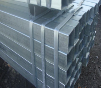 galvanized stainless steel pipe square