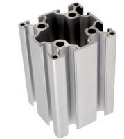 Structure 6063 Silver Anodized Non-standard Profile From Aluminium Extrusion 6063t66 Aluminum Billet