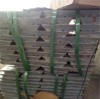 Factory hot sale zinc ingots 99.995% purity grade ingots