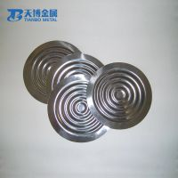 wholesale corrosion-resistant flexible tantalum stain steel metallic diaphragm in stock