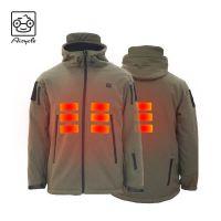Wholesale Heated Jackets Battery Heated Waterproof Softshell Jacket