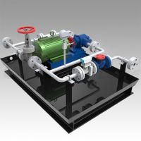 Sell flammable oil or liquid pump station for burner