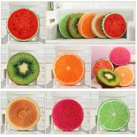 Creative 3D Summer Fruit PP Cotton Office Chair Back Cushion Sofa Throw Pillow Soft decorative pillows