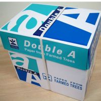 100% wooden pulp office Double A White A4 Copy Paper 80 gsm (210mm x 297mm) good price