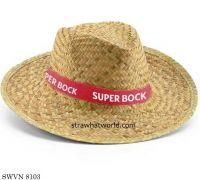 Natural Cowboy Hat, Natural Men's Hat, Natural Summer Hat,