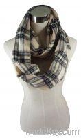 Sell Checked Jacquard Snood