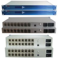 16 Channels Analog Audio and 1000M IP Optical Transceiver
