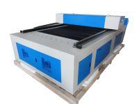 400W HQ1325M CO2 Metal Steel/MDF Plywood Laser Cutting Machine/Cutter/4 8 feet